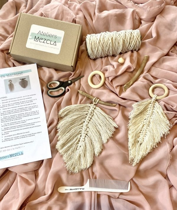 kit DIY macramé